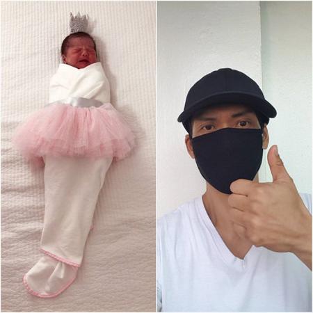 韓国男性グループ「god」のパク・チュニョン(47)に第1子女児が誕生した。(提供:OSEN)
