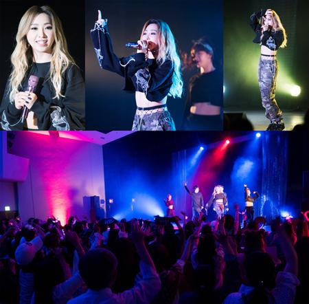 MINZY、ソロで初の日本ファンミで感動の涙 「3年の空白にも関わらず来てくれて、ありがとう」(提供:news1)