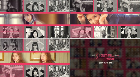 「TWICE」、新曲「SIGNAL」スポイラー映像公開! (提供:news1)