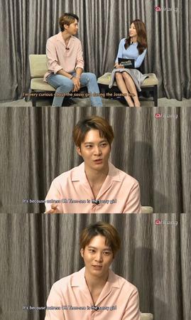 入隊した俳優チュウォン、「オ・ヨンソは最も早く親しくなった女優」=「showbiz korea」(提供:OSEN)