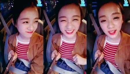 韓国ガールズグループ「APRIL」メンバーのジンソルが、新曲「MAYDAY」について語った。(提供:OSEN)