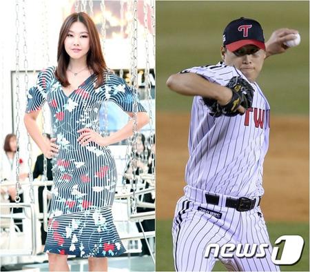 モデルのハン・ヘジン、野球選手チャ・ウチャン(LGツインズ)と熱愛説