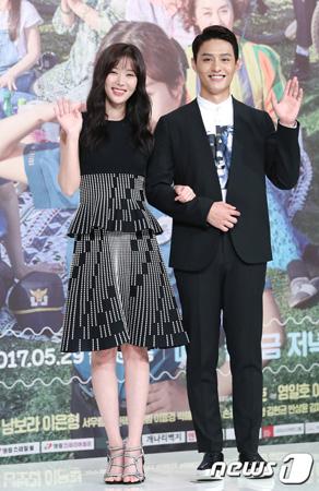 ドラマ「ムクゲ」の女優イム・スヒャン(27)が俳優ト・ジハン(25)との相性を説明した。