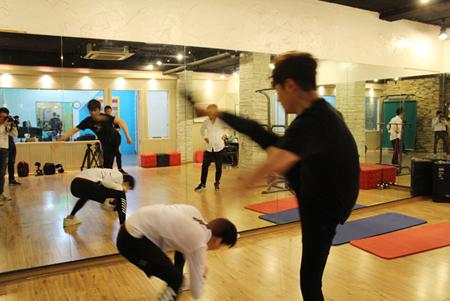 俳優パク・シフ、6月開催の来日イベントのためにアクションを猛特訓中! (C)MENTOR.Co.,Ltd