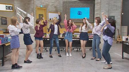 韓国MBCのバラエティー番組「お兄さん思い」では、今ホットなガールズグループ「TWICE」のプライベートが公開される。(提供:OSEN)