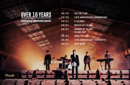 「FTISLAND」の未来… 10周年記念アルバムとカムバック日程を公開(提供:OSEN)