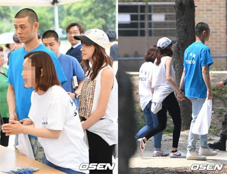 29日午後、韓国歌手Beenzino(29)が江原道(カンウォンド)・鉄原郡(チョルウォングン)に位置する6師団新兵教育隊に入所した。