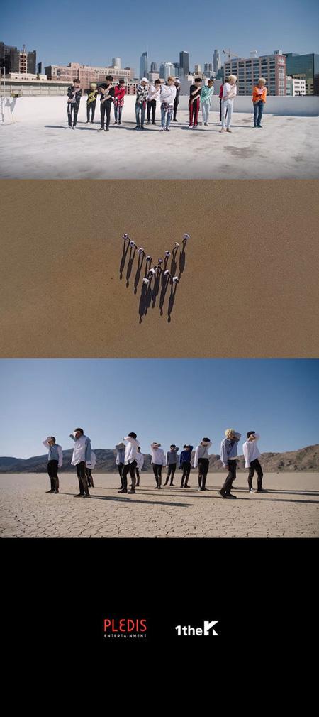 「SEVENTEEN」、新曲「泣きたくない」パフォーマンスMVを公開(提供:OSEN)