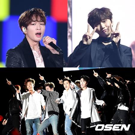 オンユ(SHINee)・サンドゥル(B1A4)・「iKON」、「ファンタスティックデュオ2」出演へ(提供:OSEN)