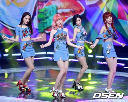 韓国ガールズグループ「NINE MUSES(ナインミュージス)」が再び、4人組になった。