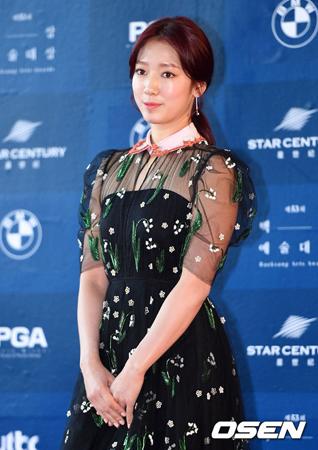 韓国女優パク・シネが継続する悪質な書き込みに対して強硬対応を始めた。(提供:OSEN)
