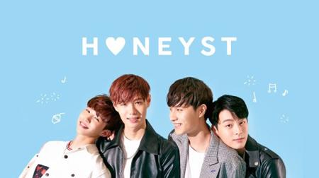 FNCエンターテインメントの新人バンド「HONEYST」が、事務所先輩「CNBLUE」のコンサートのオープニングを飾る。(提供:OSEN)