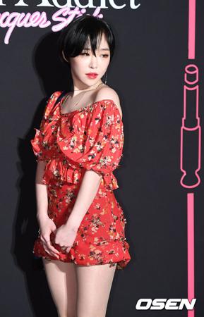 韓国ガールズグループ「Brown Eyed Girls」ガイン(29)が、警察の調査を受ける意思を明らかにした。(提供:OSEN)