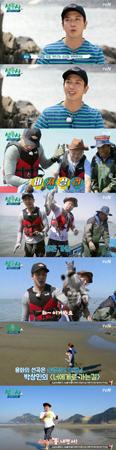 韓国人気バンド「CNBLUE」メンバーのヨンファとタレントのカン・ホドンがジョギングに出て墨まみれになった。(提供:OSEN)