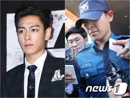 大麻吸煙容疑を受ける「BIGBANG」T.O.P(29、本名:チェ・スンヒョン)に対し、公訴状が送達された。