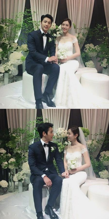 イ・サンウ-キム・ソヨン、挙式前の2ショットを公開(提供:news1)