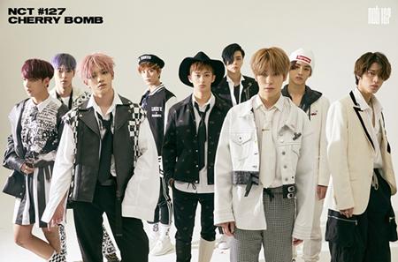 韓国ボーイズグループ「NCT 127」が10日深夜に新曲「Cherry Bomb」のティーザー映像を公開する。(提供:OSEN)