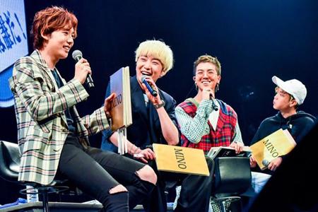 韓国ボーイズグループ「WINNER」が、日本でのファンミーティングを成功裏に終えた。(提供:OSEN)