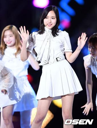 韓国ガールズグループ「TWICE」メンバーのミナを脅迫した人に対して、所属事務所のJYPエンターテインメントが強硬対応することを明らかにした。(提供:OSEN)