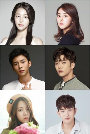 韓国俳優ソル・インア(21)、パク・セワン(22)、ソ・ジフン(20)、ロウン(20、SF9)、ハ・スンリ(22)、キム・ヒチャン(24)が「学校2017」に出演することが確定した。(提供:OSEN)