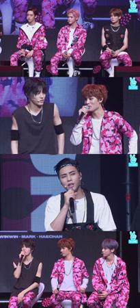 韓国ボーイズグループ「NCT 127」が、新曲「CHERRY BOMB」について自信を見せた。(提供:OSEN)