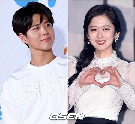 韓国俳優パク・ボゴムと女優チャン・ナラ側が、根拠のない結婚説に困惑した。(提供:OSEN)