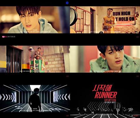 韓国ボーイズグループ「UP10TION」が、新曲「Runner」のMVティーザーを公開した。(提供:OSEN)