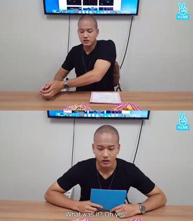 韓国ボーイズグループ「BTOB」プニエルが、ソロ曲について「楽しい夏の曲だ」と紹介した。(提供:OSEN)