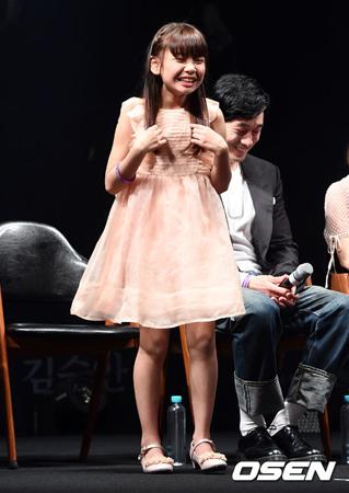 韓国子役のキム・スアンが、俳優ソン・ジュンギのファンであることを明かした。(提供:OSEN)