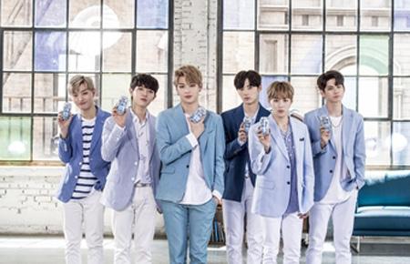 人気爆発の「Wanna One」、成人メンバーがハイト眞露コラボ広告に抜てき'提供:news1)