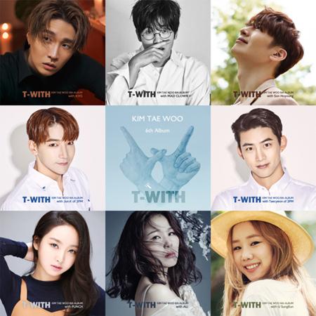 「2PM」テギョン&Jun.K、「god」キム・テウのニューアルバム「T-WITH」にフィーチャリング参加(提供:OSEN)