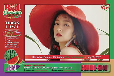 韓国ガールズグループ「Red Velvet」がニューミニアルバム「The Red Summer」で夏の歌謡界を熱くする。(提供:OSEN)