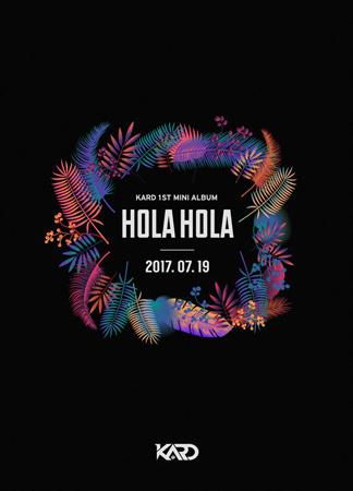 韓国混成グループ「K.A.R.D」が、7月19日に1stミニアルバム「Hola Hola」で正式デビューすることになった。(提供:OSEN)