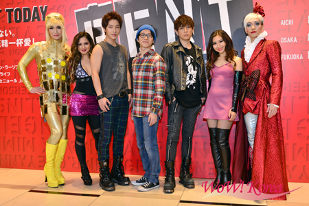 「RENT」出演の村井良大、堂珍嘉邦、ユナク(超新星)、青野紗穂、ジェニファー、平間壮一、丘山晴己ら。