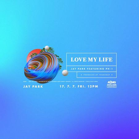 パク・ジェボム、2週連続で新曲発表=「LOVE MY LIFE」7日正午公開(提供:OSEN)