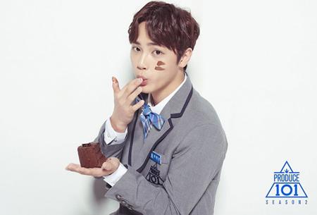 韓国Mnet「プロデュース101(PRODUCE 101) シーズン2」に出演したチュ・ハンニョン(18)がCre.Kerエンターテインメントが年末にお披露目するボーイズグループに合流する。(提供:OSEN)