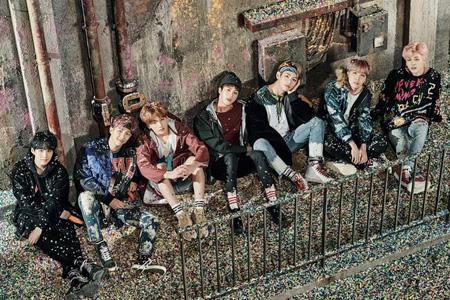 韓国アイドルグループ「防弾少年団」が日本と韓国を代表する音楽チャートの上半期決算を席巻した。(提供:OSEN)