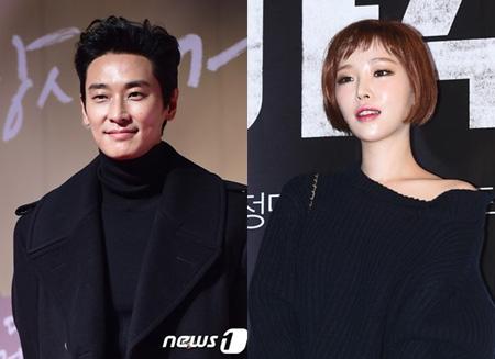 破局説が浮上していた韓国俳優チュ・ジフン(35)とガールズグループ「Brown Eyed Girls」ガイン(29)が破局を認めた。(提供:news1)