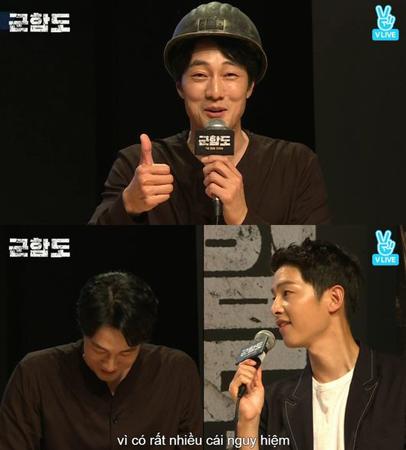 韓国俳優ソ・ジソブが、映画「軍艦島」撮影現場での安全に一番注意していたとソン・ジュンギから称賛された。(提供:OSEN)