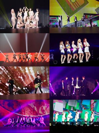 6回目のツアーをスタートしたグローバル公演ブランド「SMTOWN LIVE」が、ソウルに続き大阪で海外初めての公演を成功させた。(提供:OSEN)