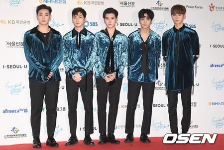 韓国ボーイズグループ「NU'EST」が新曲をリリースしてK-POP界にカムバックする。(提供:OSEN)