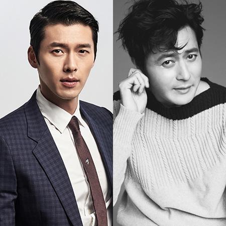俳優ヒョンビン(34)とチャン・ドンゴン(45)が韓国初の夜鬼アクション大作「猖獗」(監督:キム・ソンフン)で共演する。(提供:OSEN)