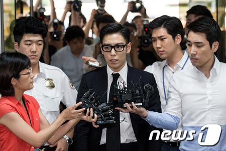 大麻吸煙の「BIGBANG」T.O.P、1審の判決は「懲役10か月・執行猶予2年」