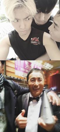 韓国の芸人キム・ビョンマン(41)と共演していたメンバーたちが彼に向けて応援のメッセージを伝えた。(提供:OSEN)