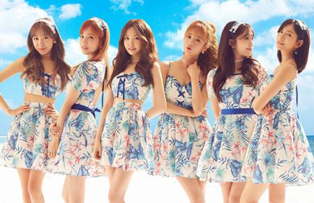 韓国ガールズグループ「Apink」が、日本で4か月ぶりに活動していく。(提供:OSEN)