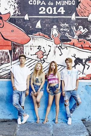 韓国混成グループ「K.A.R.D」が、グローバルな人気ぶりをYouTubeの数字で立証した。(提供:OSEN)
