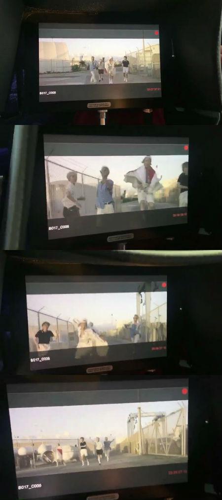 YGヤン・ヒョンソク代表が、「WINNER」の新曲ミュージックビデオの撮影現場を公開した。(提供:OSEN)