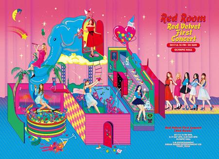 「Red Velvet」、初コンサートで全席完売! 1回追加が決定(提供:OSEN)