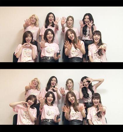 韓国ガールズグループ「少女時代」が10周年のカムバックを控え、「ハッピートゥゲザー3」の収録に臨む。(提供:OSEN)