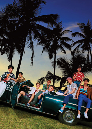 韓国ボーイズグループ「EXO」の4th「THE WAR」が初動売り上げ枚数50万枚を突破した。(提供:OSEN)
